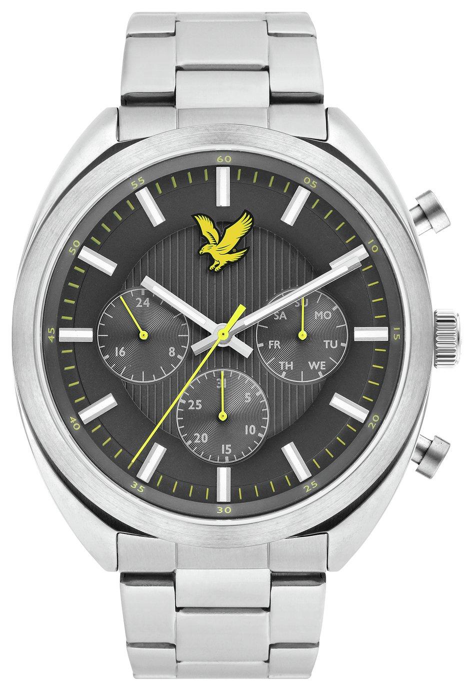 Lyle and Scott Men's Silver Bracelet Watch