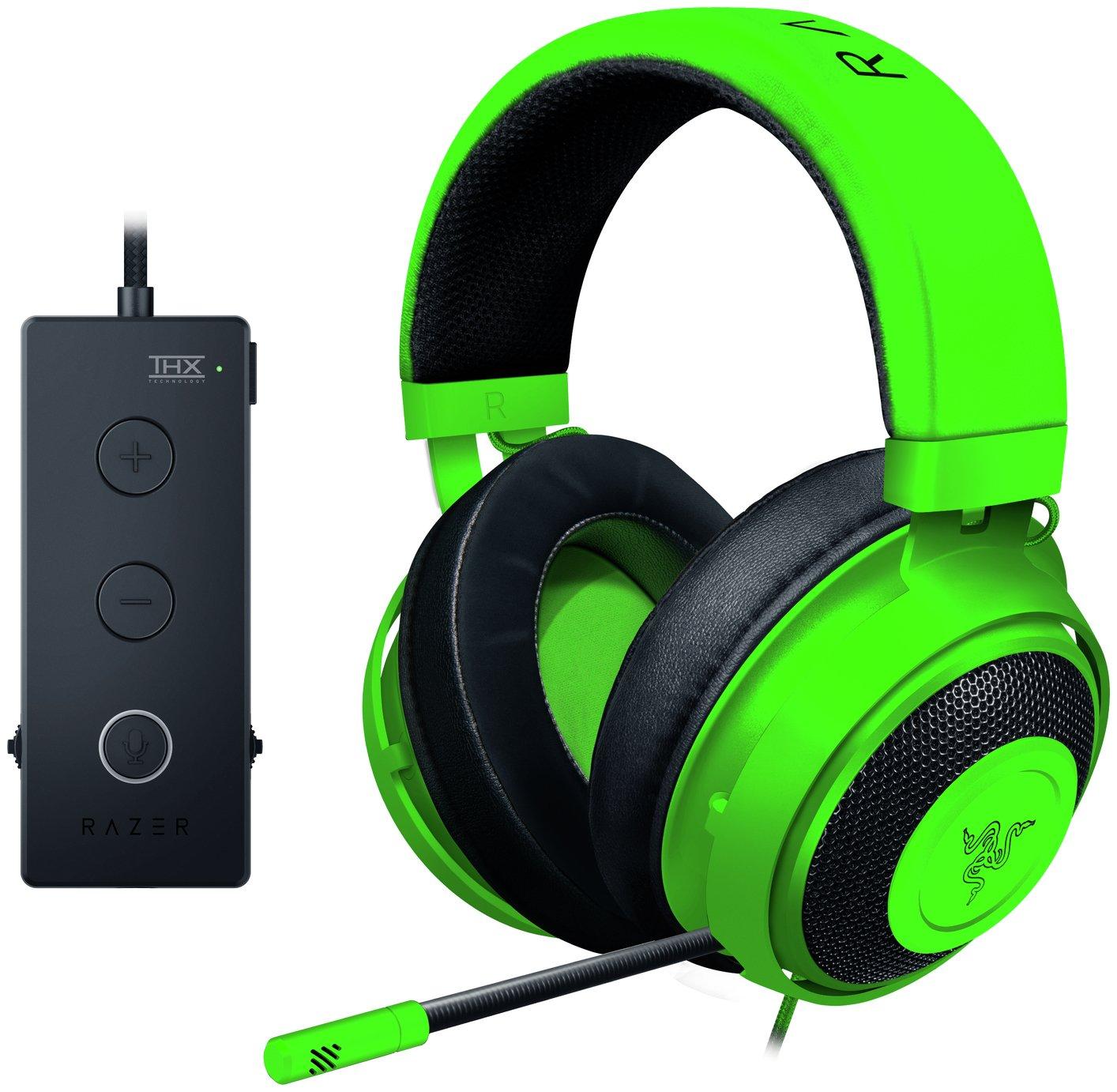 Razer Kraken Tournament Gaming Headset - Green