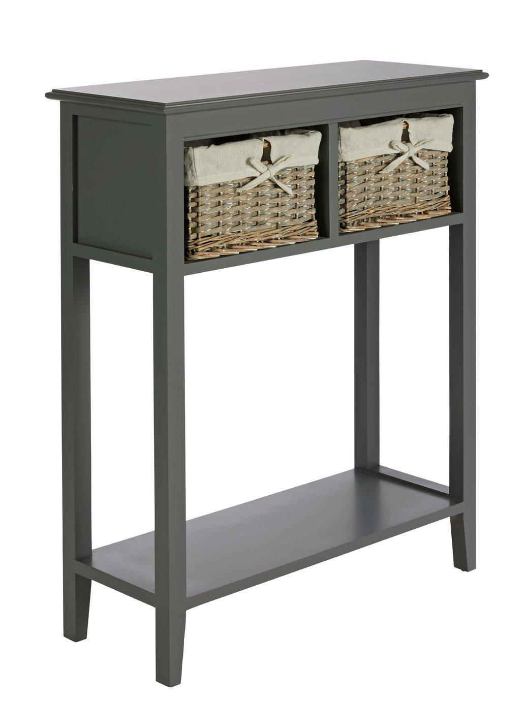 Argos Home New Malvern Console Table - Grey