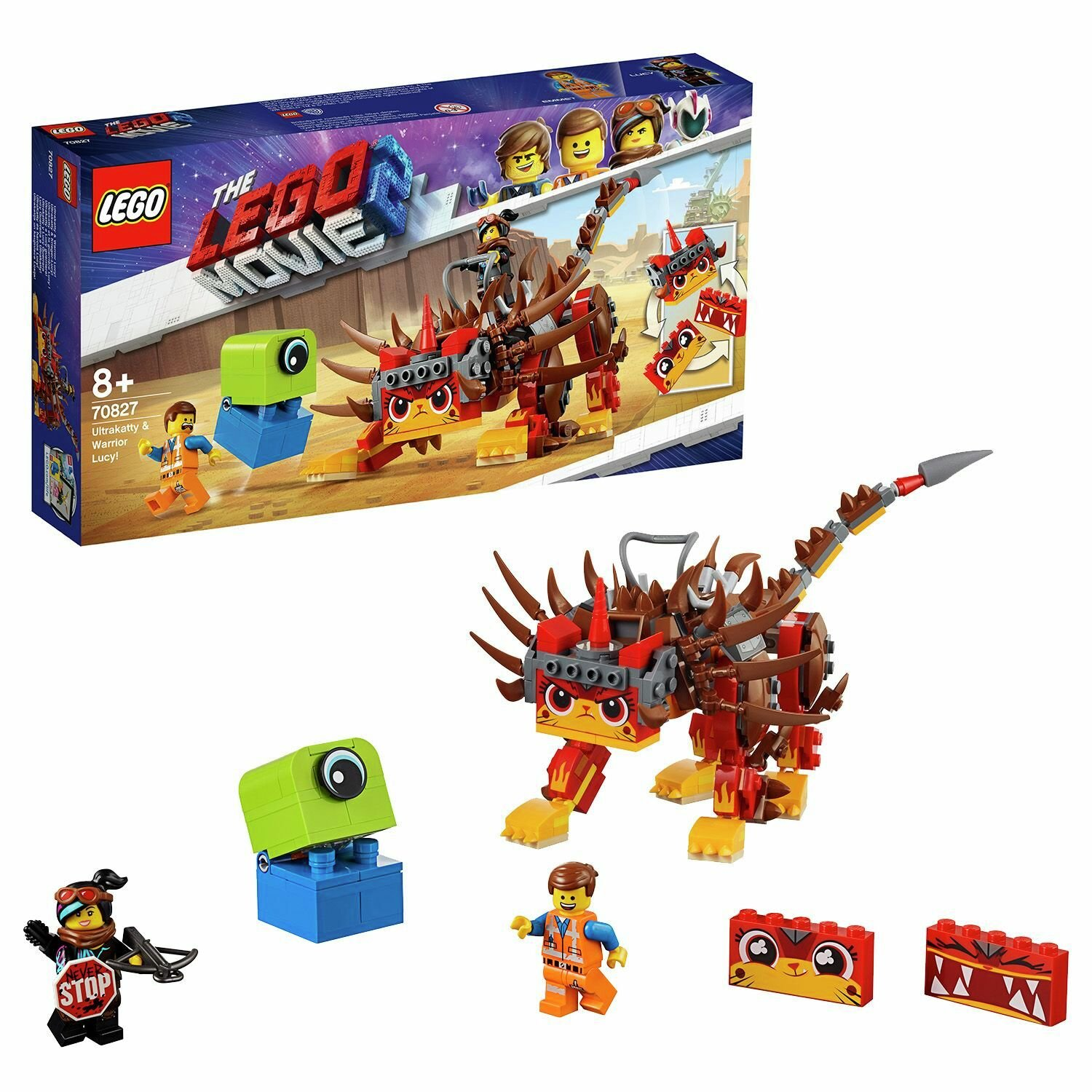 LEGO Movie 2 Ultrakatty & Warrior Lucy Playset - 70827