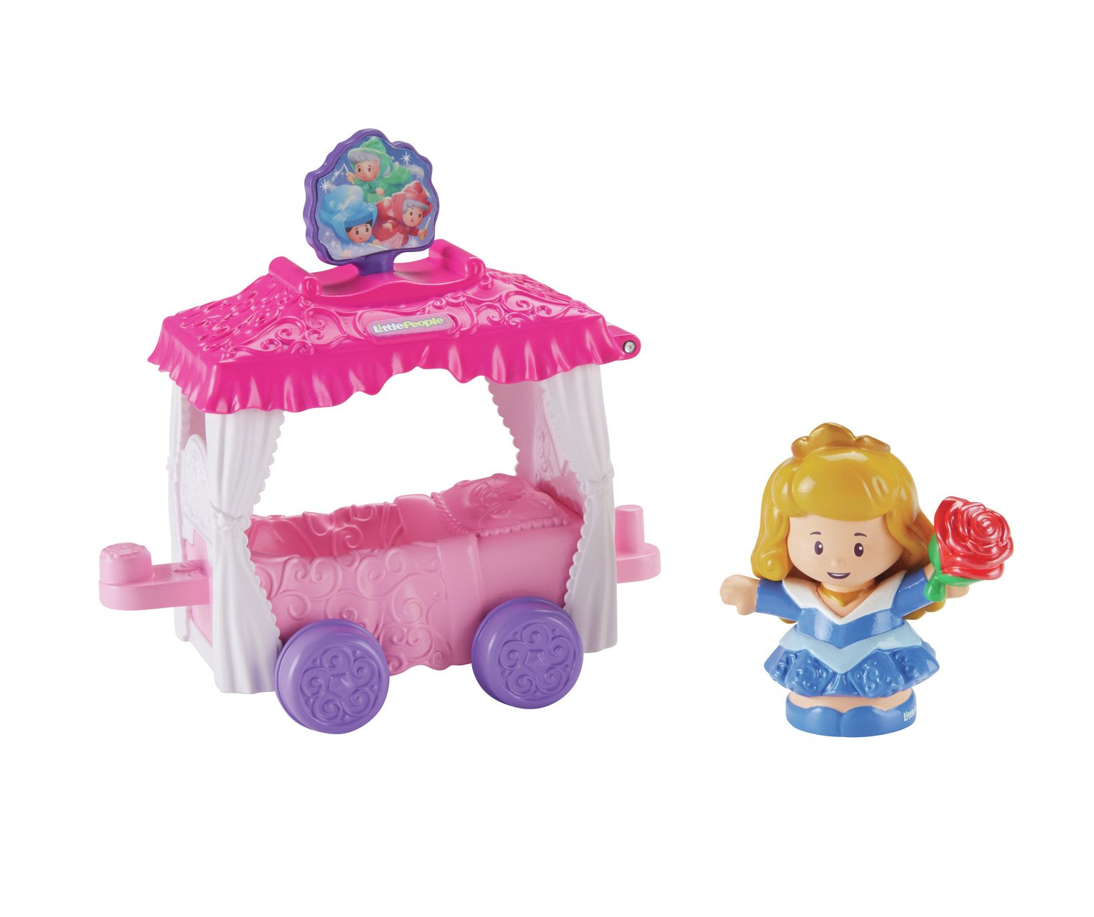 Fisher-Price World of Little People Aurora & Fairy Godmother