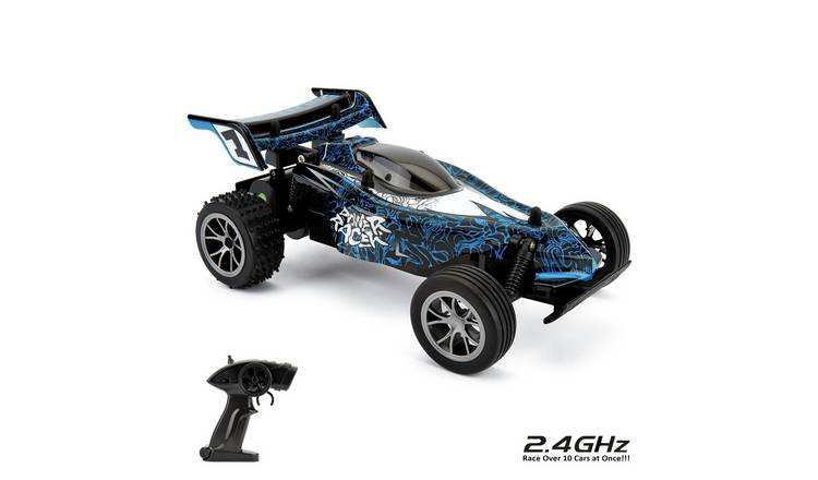 High Speed Racer 1:16 Radio Controlled Sports Car - Blue