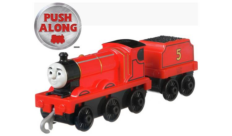Thomas /& Friends ~ Trackmaster Push ALONG ~ Original James Die-Cast moteur
