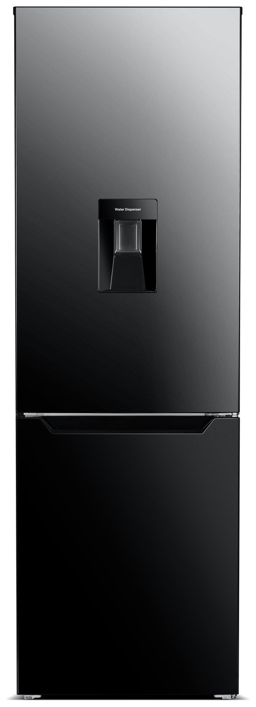Bush 60185FFWTD Fridge Freezer - Black Best Price, Cheapest Prices
