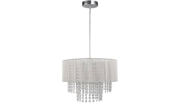 wholesale dealer c7c18 c6789 Buy Argos Home Siena Hanging Pendant Light - White | Ceiling lights | Argos