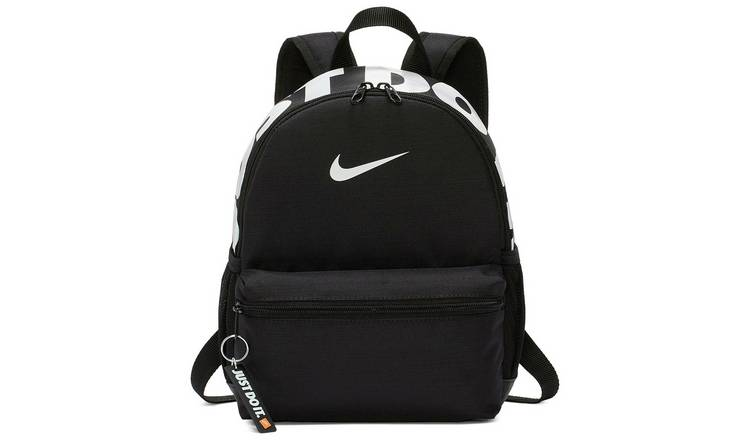 Nike Brasilia Just Do It Mini 11L Backpack - Black
