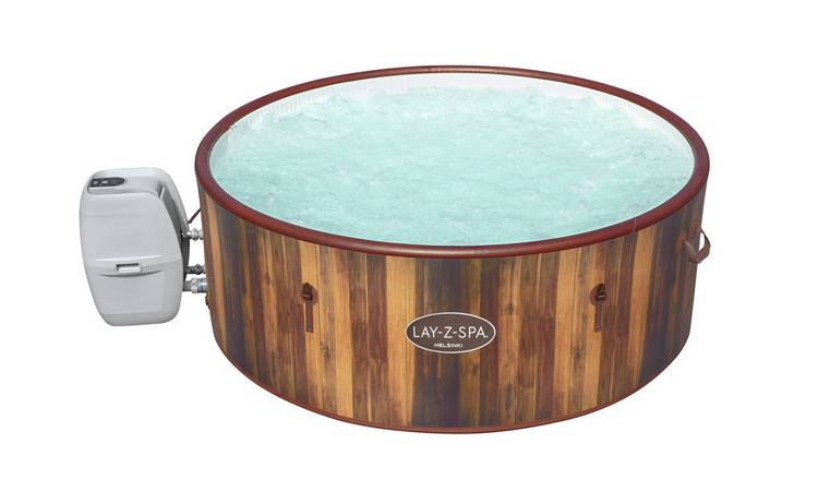 Lay-Z-Spa Helsinki 7 Person AirJet Hot Tub