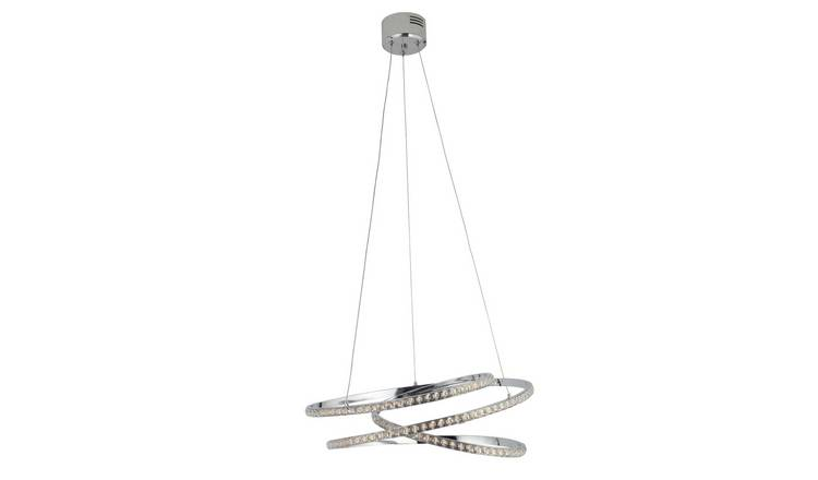 Argos Home Sophia LED Ceiling Pendant Light - Chrome