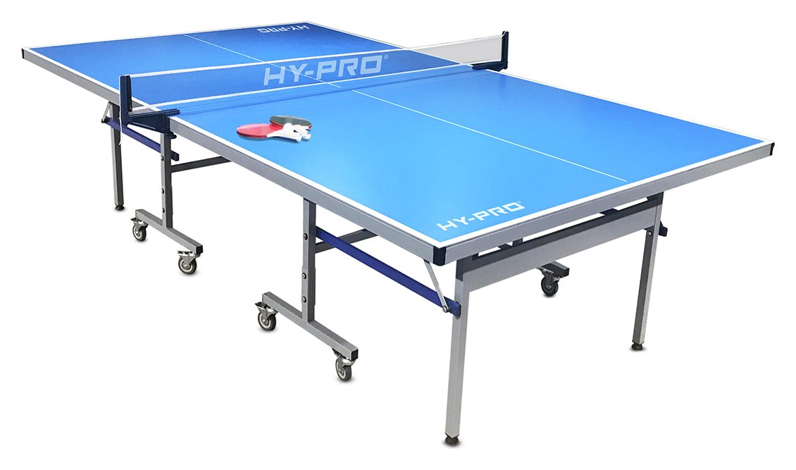 Hy-Pro 9ft Full Outdoor Table Tennis Table