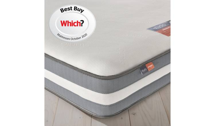 Silentnight Studio 2 Memory Foam Mattress - Single