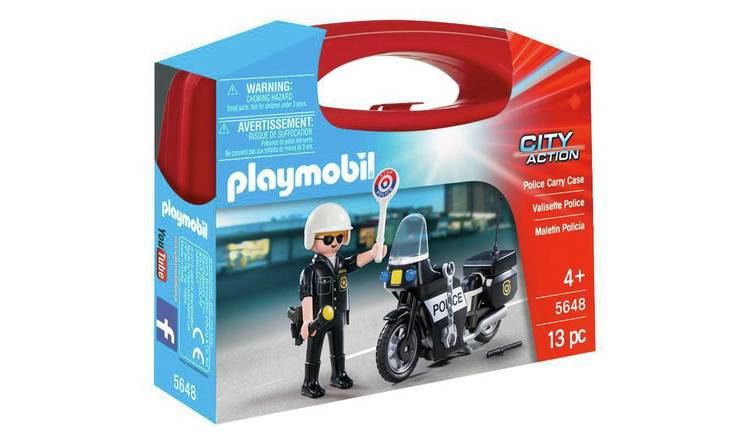 Playmobil 5468 Small Police Carry Case