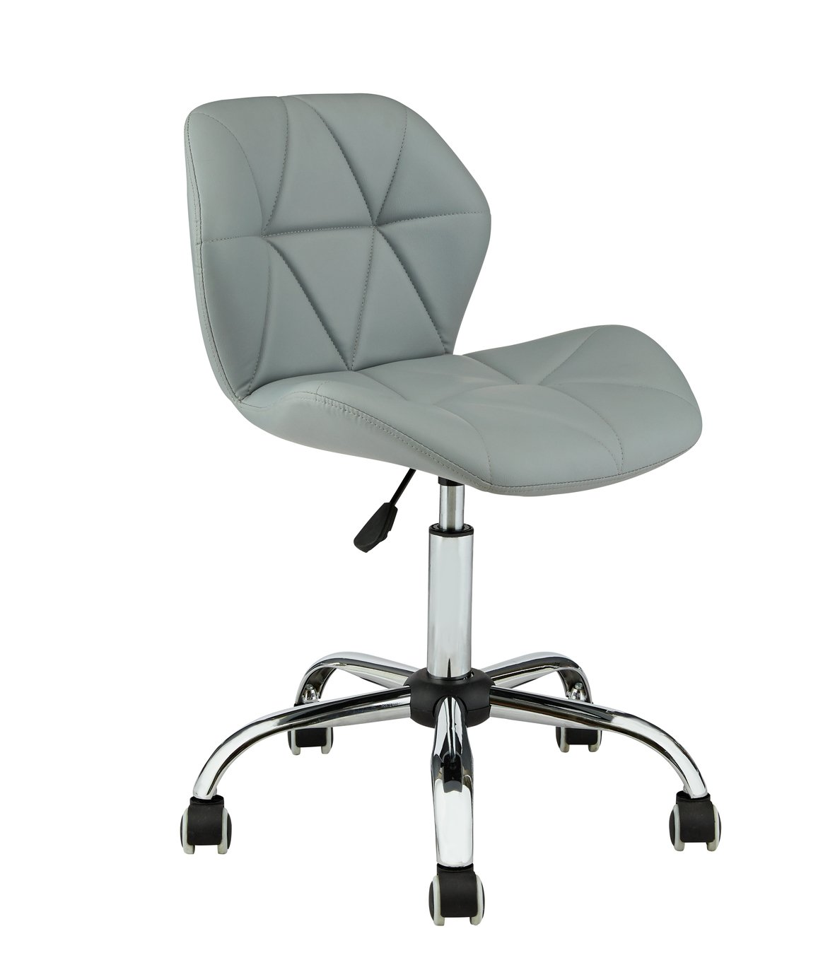 Argos Home Boutique Faux Leather Office Chair - Grey