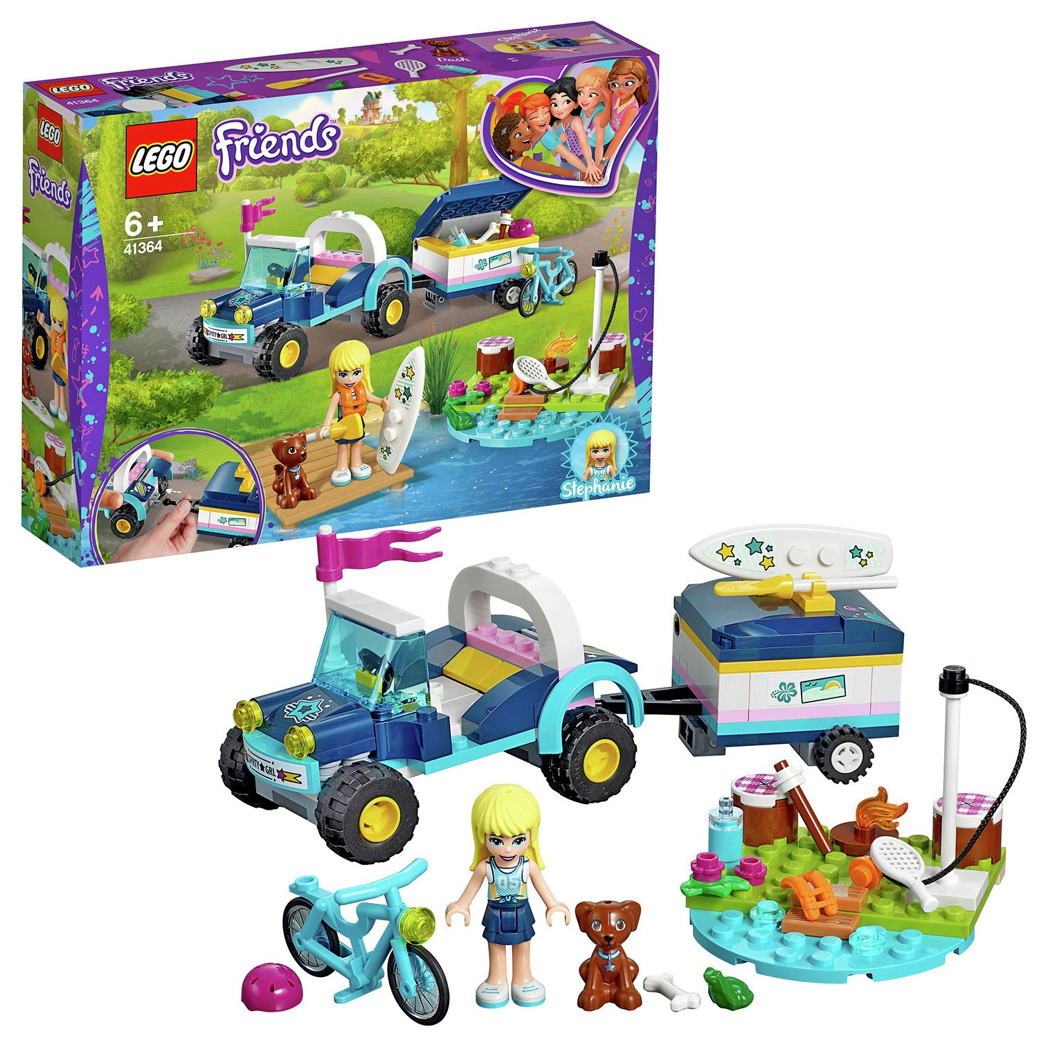 LEGO Friends Stephanie's Toy Buggy and Trailer - 41364