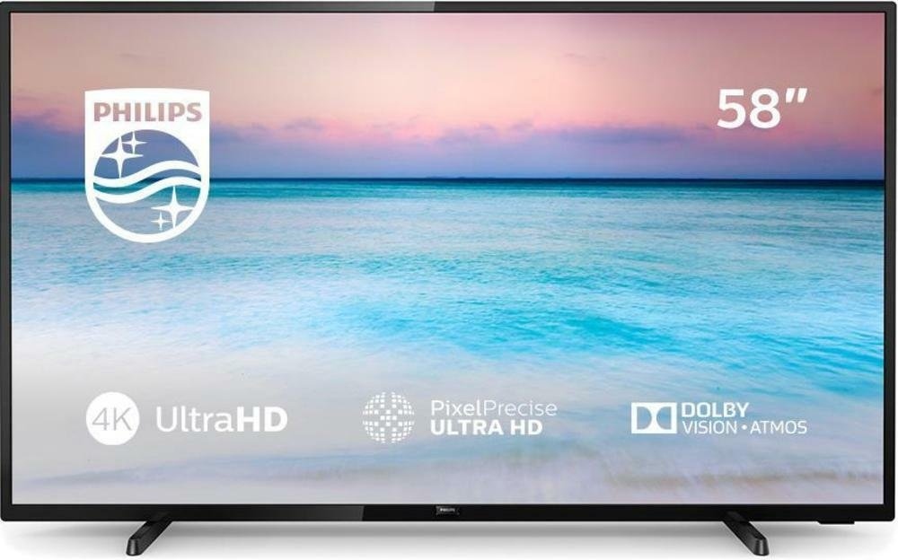 Philips 58 Inch 58PUS6504 Smart 4K UHD TV with HDR
