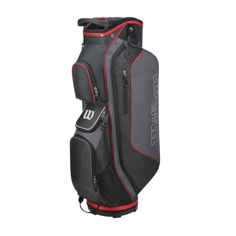 Wilson ProStaff Golf Cart Bag - Black and Red