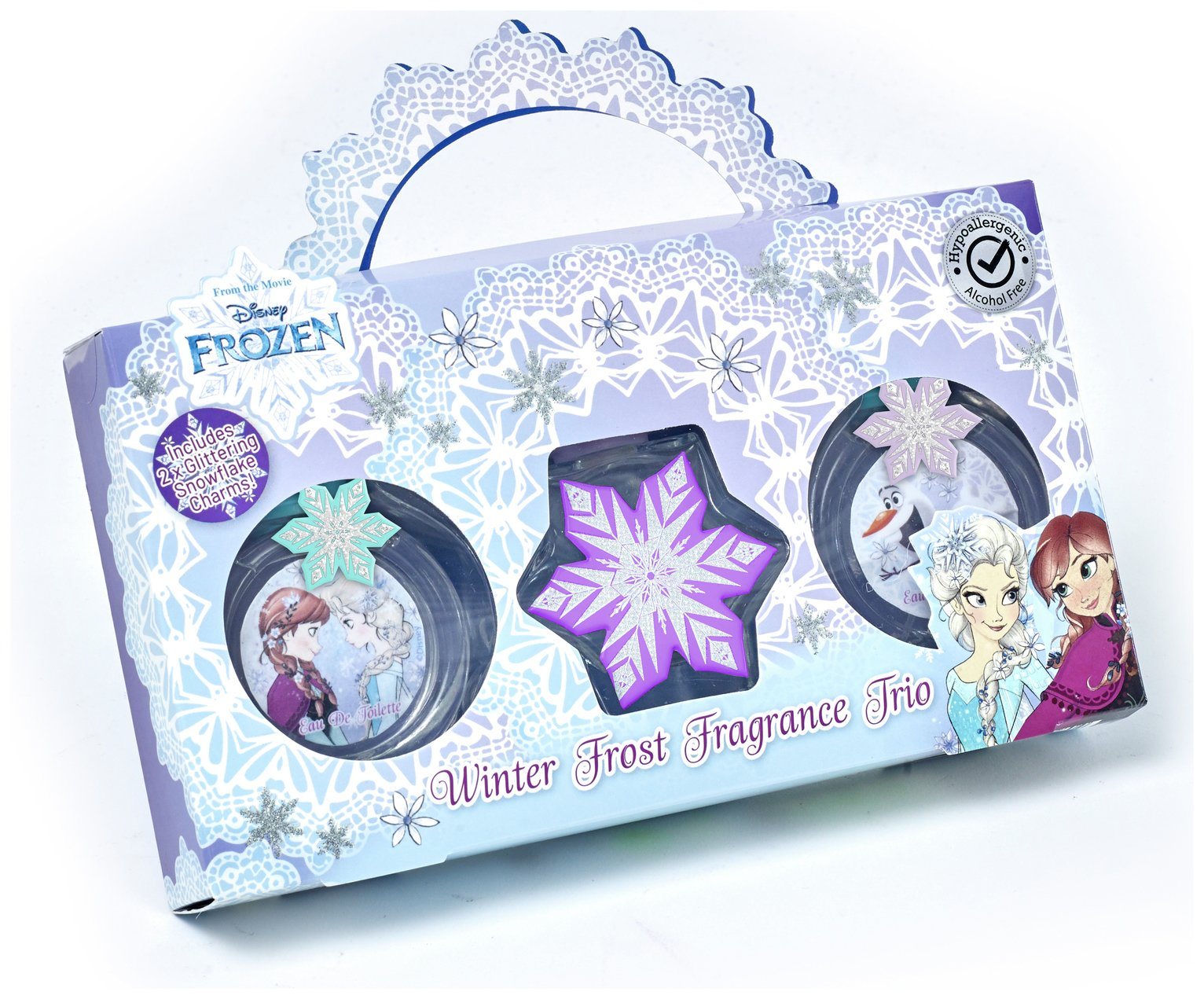 Disney Frozen Winter Eau de Toilette x 3 Bottles