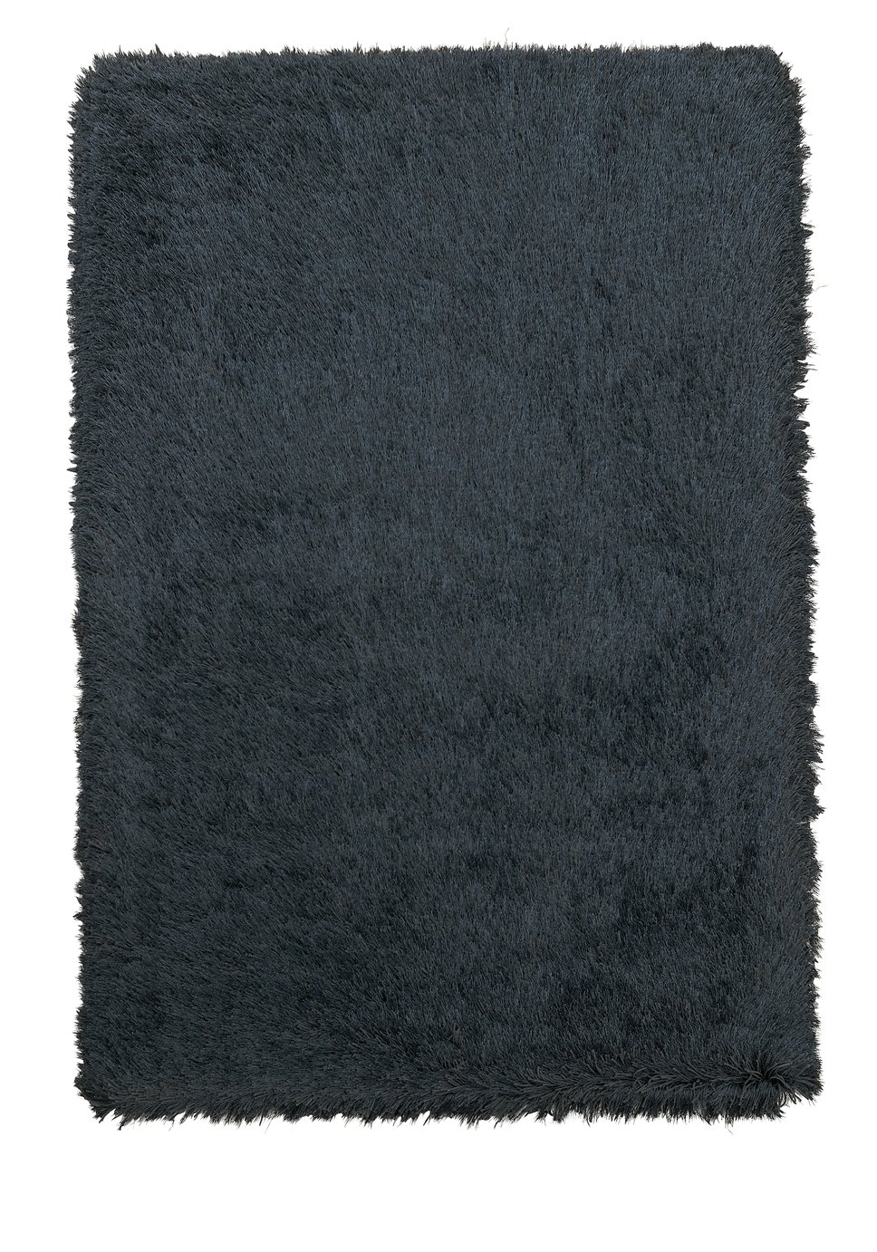 Argos Home Bliss Deep Pile Shaggy Rug - 200x290cm - Black