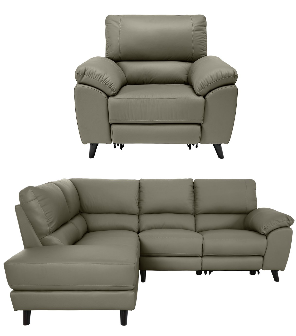 Argos Home Elliot Chair and Left Corner Recliner Sofa review