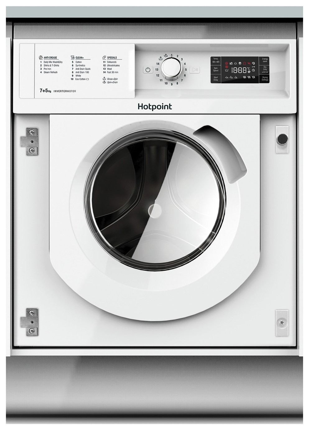Hotpoint BIWDHG7148UK Integrated 7KG 1400 Washer Dryer review