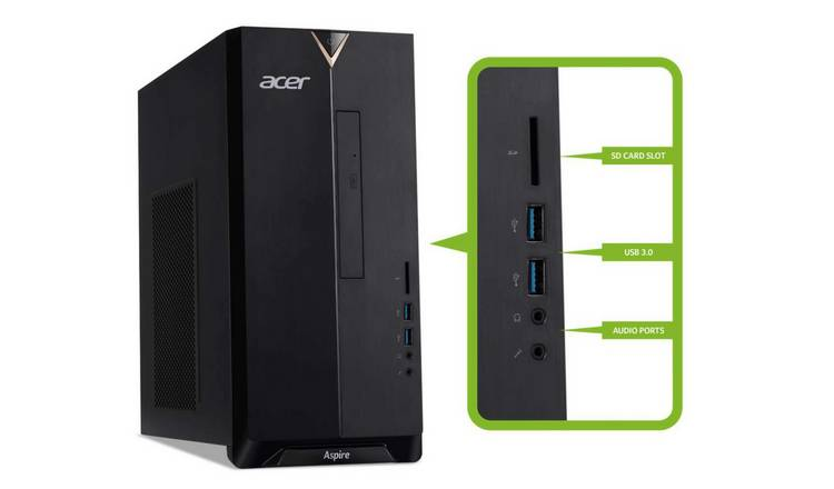 Acer Aspire TC-390 Ryzen 3 8GB 1TB Desktop PC