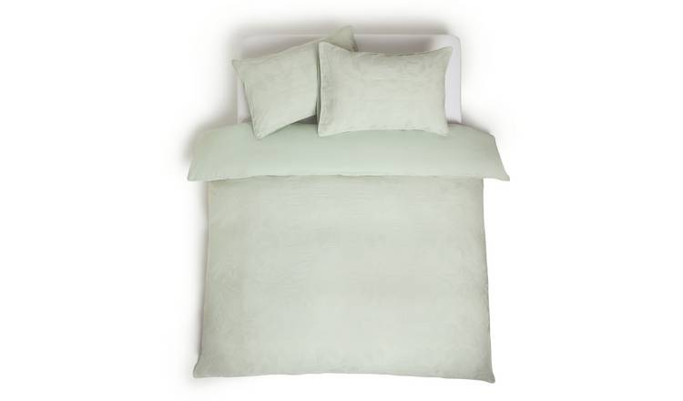 Habitat Jacquard Leaf Bedding Set - Double