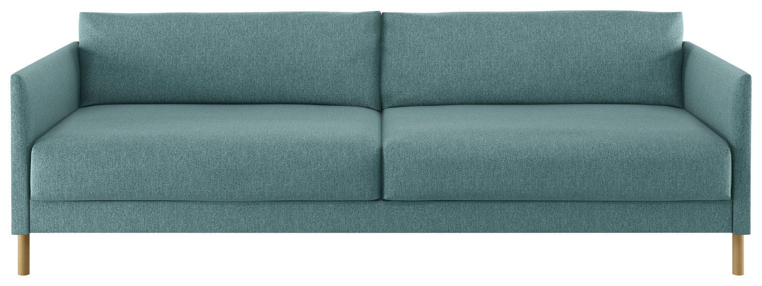 Habitat Hyde 3 Seater Fabric Sofa Bed - Teal