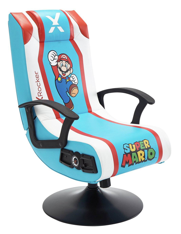 X Rocker Super Mario Edition 2.1 Audio Gaming Chair