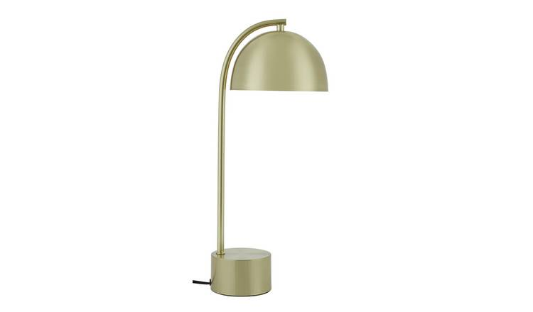 Habitat Ivar Table Lamp - Brass