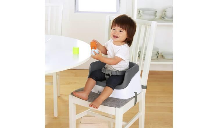 Buy Ingenuity Smartclean Toddler Booster Seat Grey Booster Seats Argos
