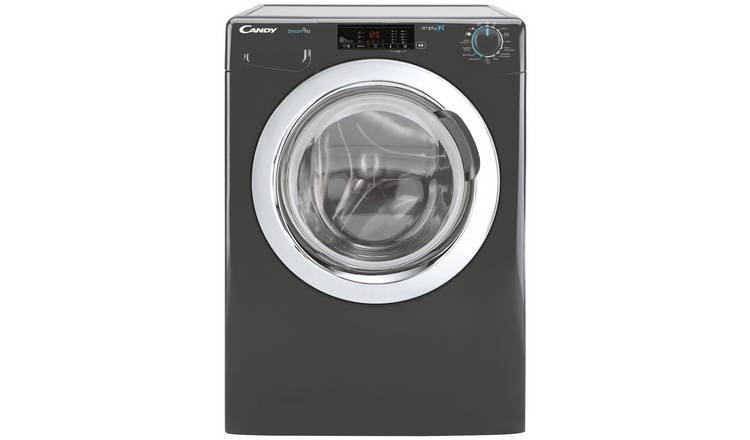Candy Smart Pro 10KG 1400 Washing Machine - Graphite