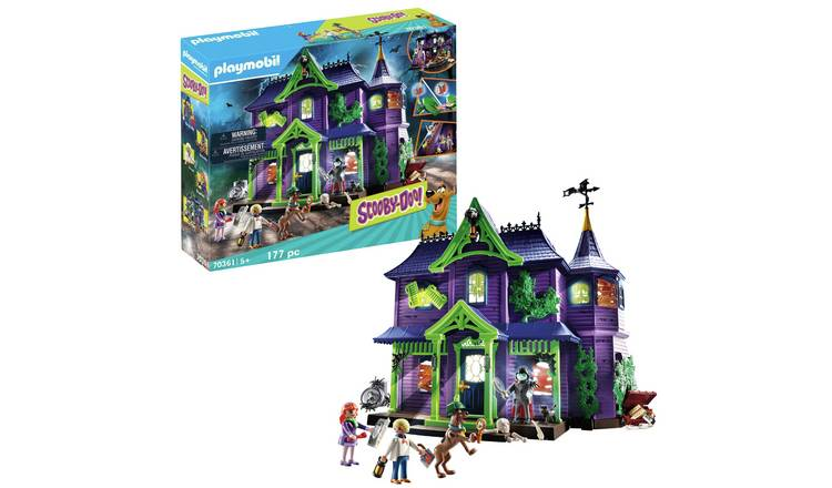 Playmobil 70361 Scooby-Doo! Mystery Mansion
