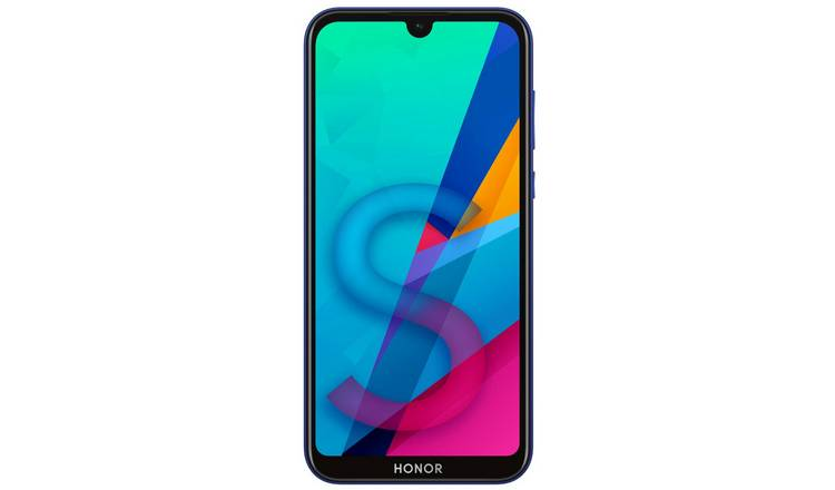 SIM Free HONOR 8S 64GB Mobile Phone - Blue