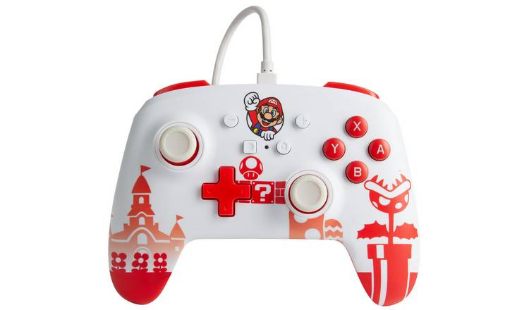 Nintendo Switch Enhanced Wired Controller - Super Mario