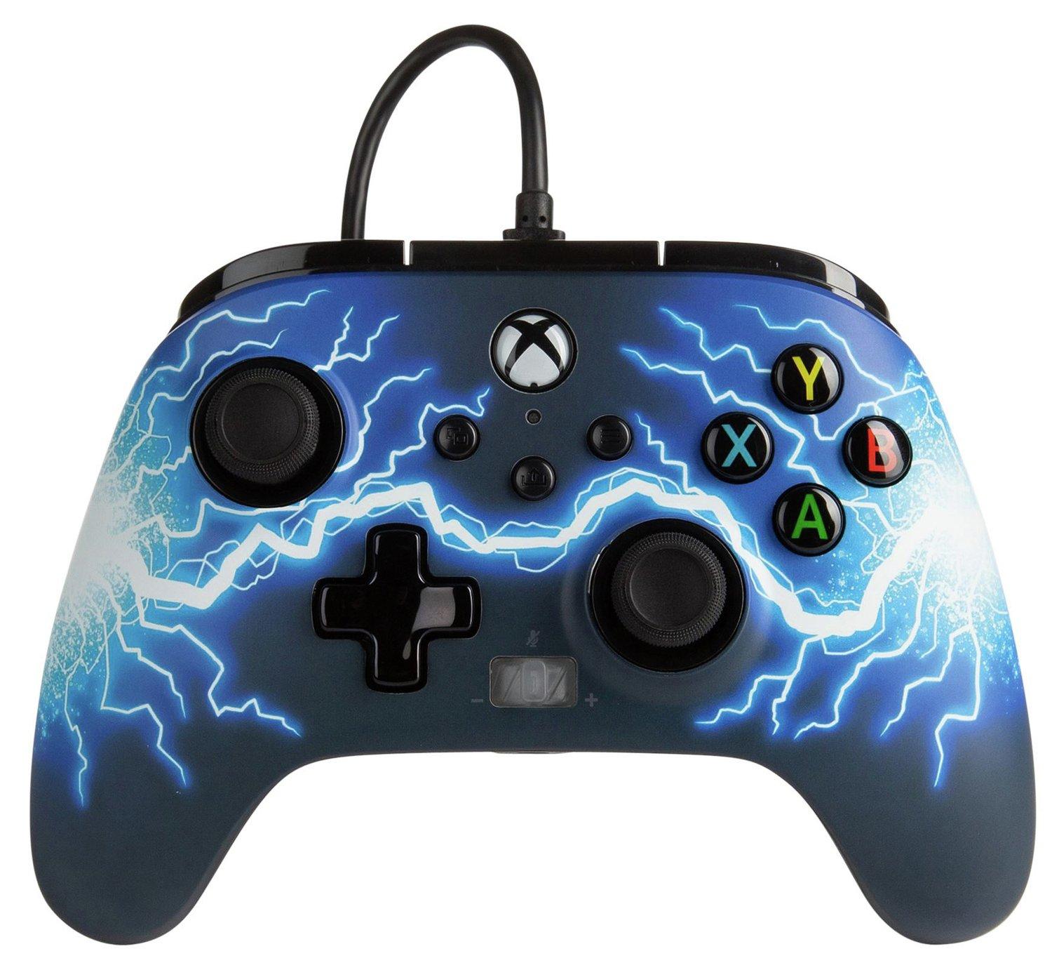 PowerA Xbox Arc Light Enhanced Wired Controller - Blue