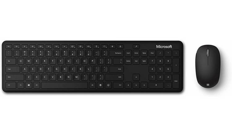 Microsoft QHG-00004 Bluetooth Keyboard and Mouse Deskset