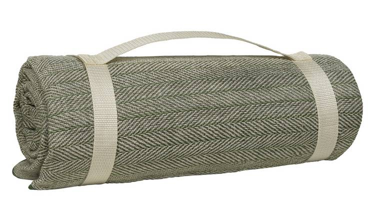 Argos Home Curated Woven Picnic Rug