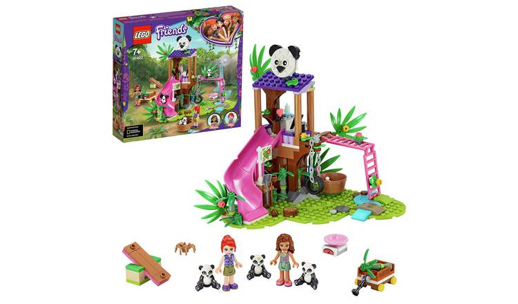 LEGO Friends Panda Jungle Tree House Rescue Play Set - 41422