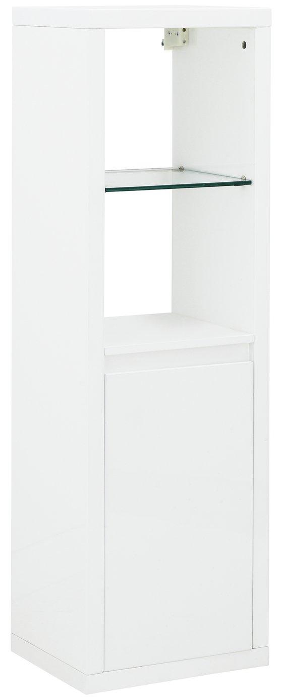 Polar Wall Mounted LED Display Unit - White