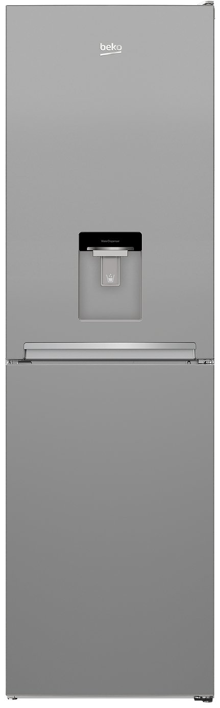 Beko CFG3582DS Fridge Freezer - Silver