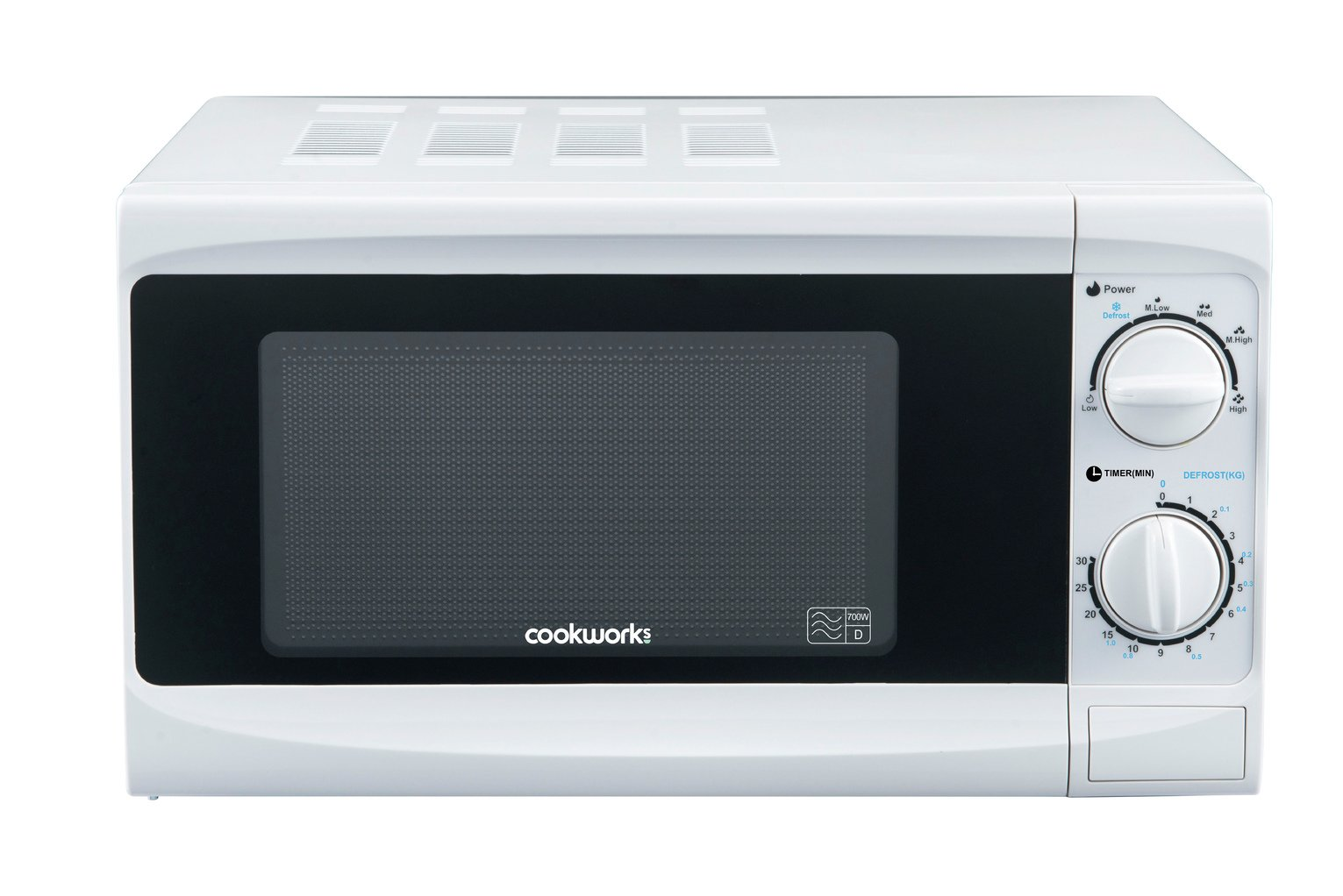 Cookworks 700W Standard Microwave MM7 - White