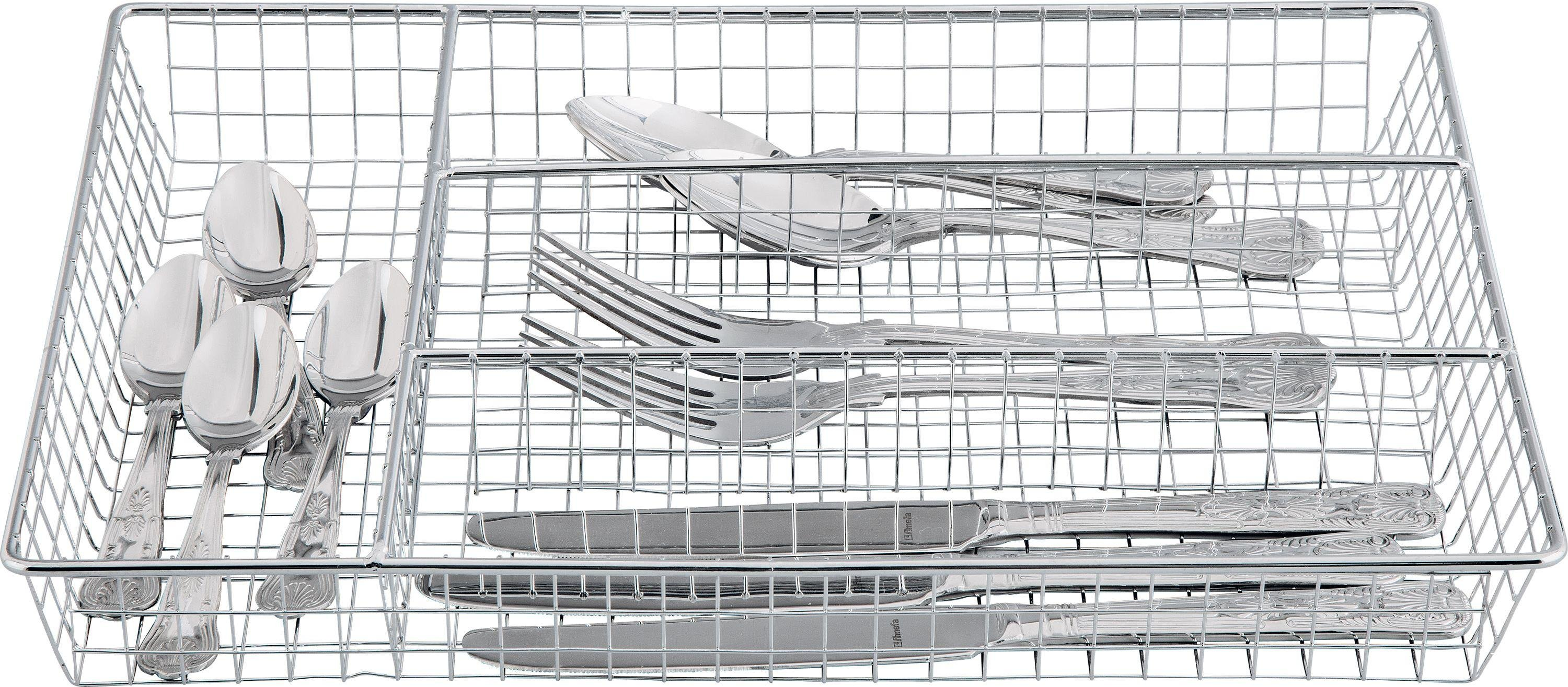 Image of HOME - Chrome Cutlery Tray