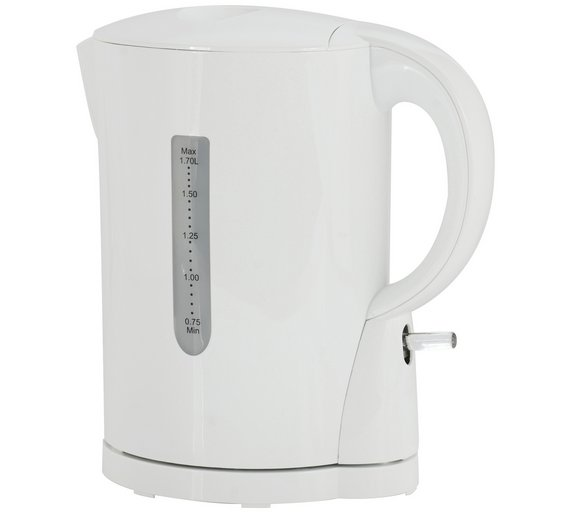 buy simple value cordless kettle white kettles argos