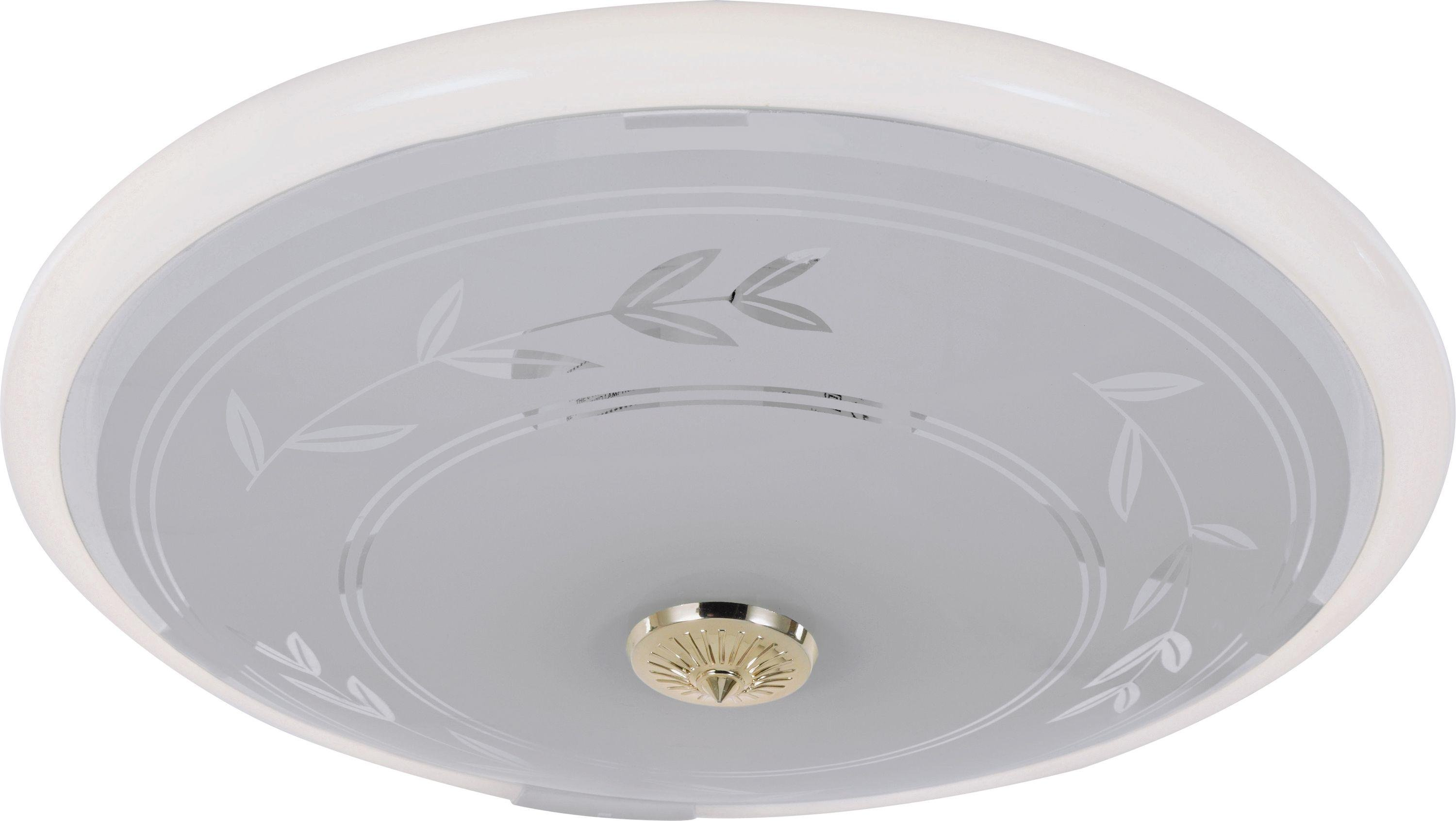 Ceiling Lights Home Bargains : Sale on home circular fluorescent etch flush ceiling