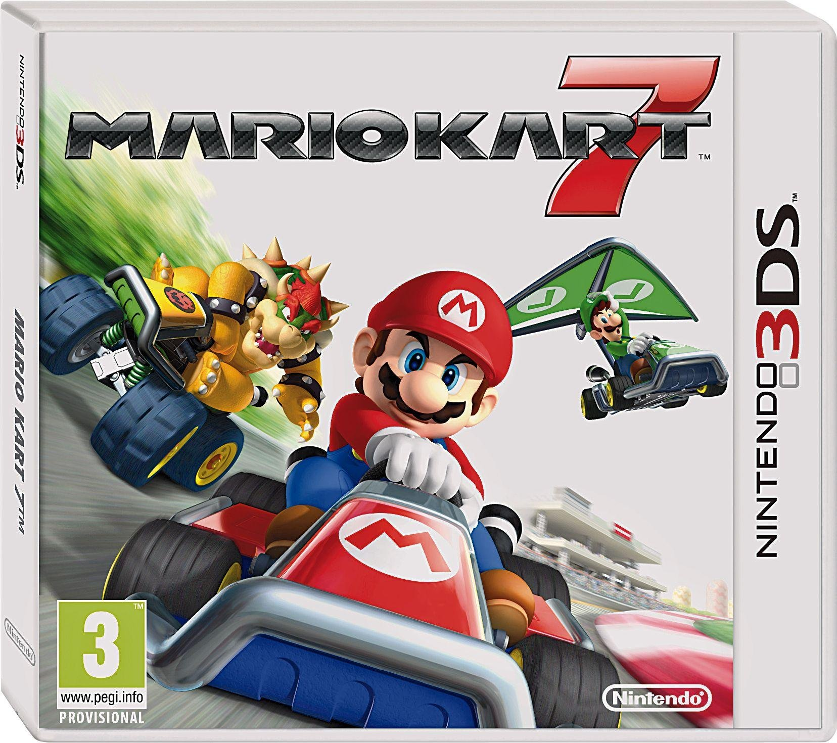 Mario - Kart 7 - 3DS Game