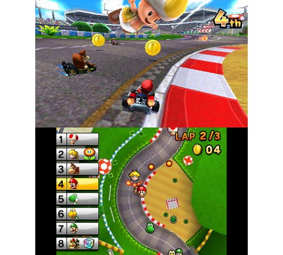 buy mario kart 7 3ds game at your online shop for nintendo 3ds 2ds and ds games. Black Bedroom Furniture Sets. Home Design Ideas