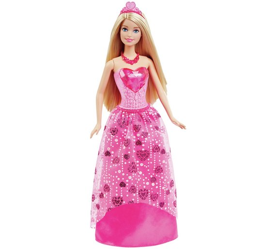 Buy Barbie Princess Doll Assortment at Argoscouk  Your Online