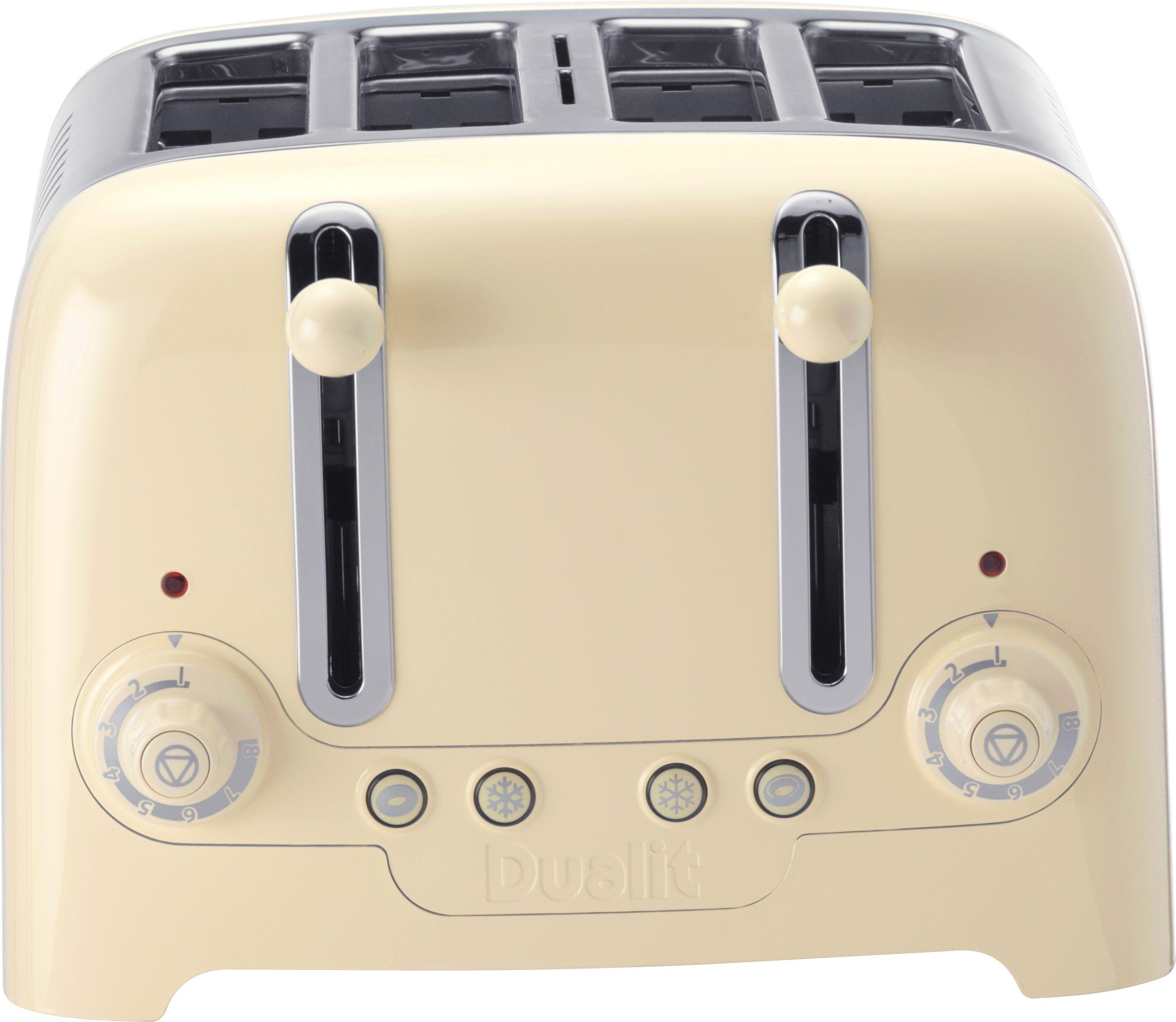 Buy Dualit 4 Slice Toaster Cream at Argos Your