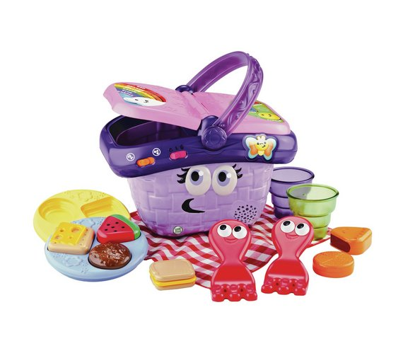Buy Leapfrog Shapes And Sharing Picnic Basket Baby Activity Toys