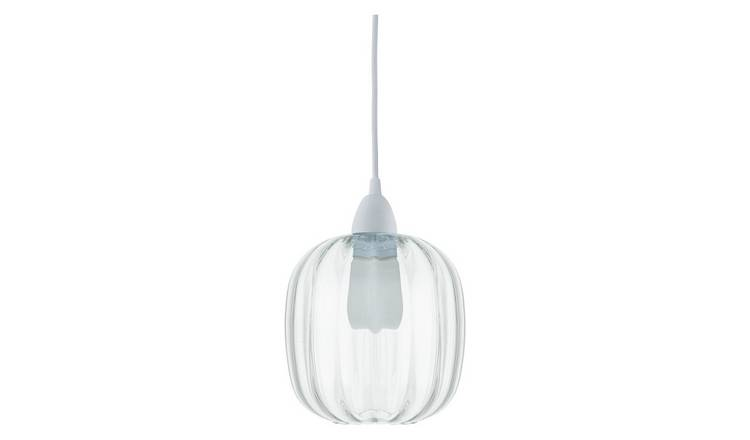 Habitat Niquita Easy-to-Fit Glass Ceiling Shade- Clear Glass