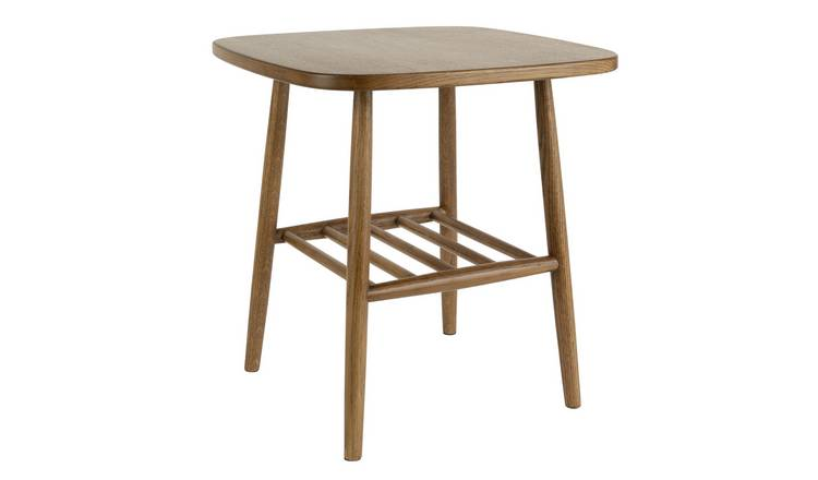 Habitat Cornelia Side Table - Walnut
